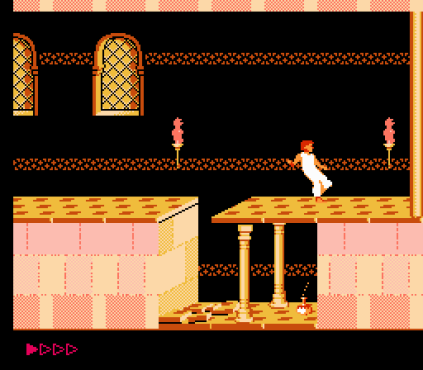 Prince of Persia NES 56
