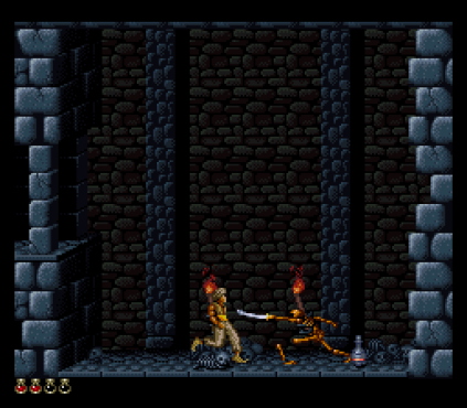 Prince of Persia SNES 45