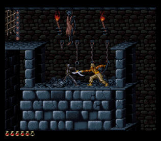 Prince of Persia SNES 54
