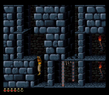 Prince of Persia SNES 56