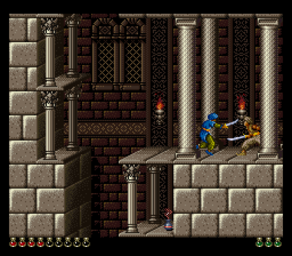 Prince of Persia SNES 78