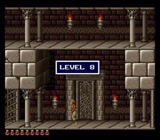 Prince of Persia SNES 86