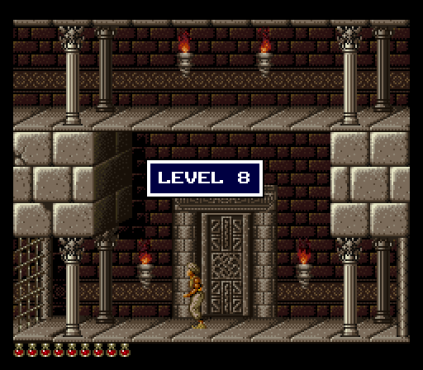 Prince of Persia SNES 86