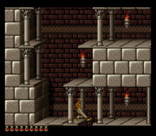 Prince of Persia SNES 87