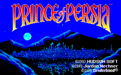 Prince of Persia Turbografx-16 01