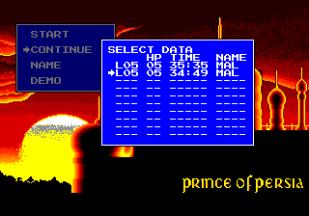 Prince of Persia Turbografx-16 73