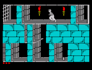 Prince of Persia ZX Spectrum 22