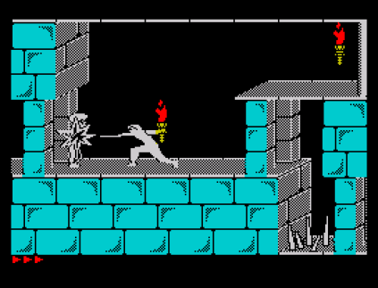 Prince of Persia ZX Spectrum 23