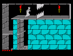 Prince of Persia ZX Spectrum 45