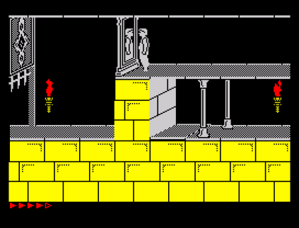 Prince of Persia ZX Spectrum 64
