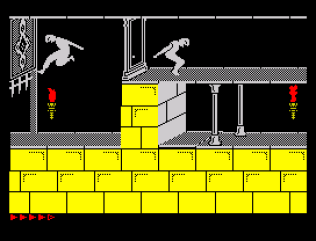Prince of Persia ZX Spectrum 65