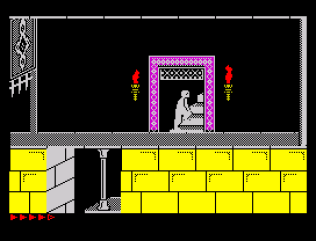 Prince of Persia ZX Spectrum 66