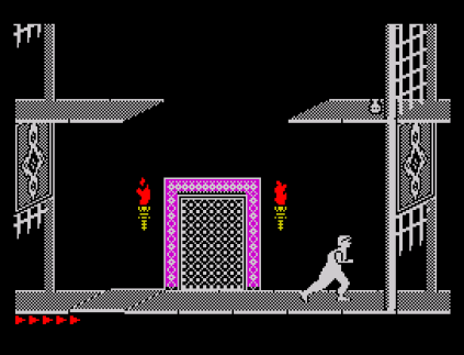 Prince of Persia ZX Spectrum 67