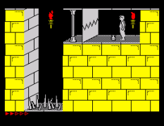 Prince of Persia ZX Spectrum 76