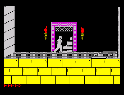 Prince of Persia ZX Spectrum 78