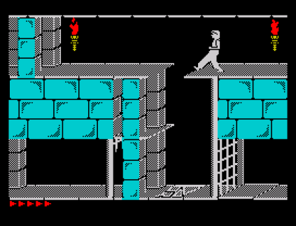 Prince of Persia ZX Spectrum 86