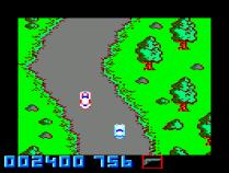 Spy Hunter Amstrad CPC 07