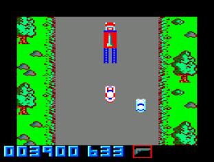 Spy Hunter Amstrad CPC 09