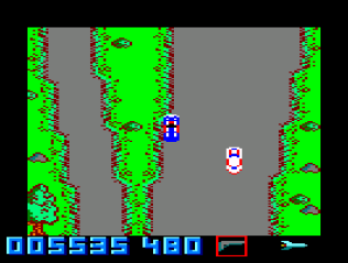 Spy Hunter Amstrad CPC 10