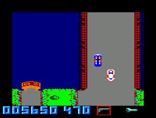 Spy Hunter Amstrad CPC 11