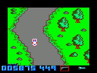 Spy Hunter Amstrad CPC 12