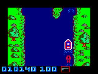 Spy Hunter Amstrad CPC 22
