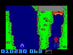 Spy Hunter Amstrad CPC 23