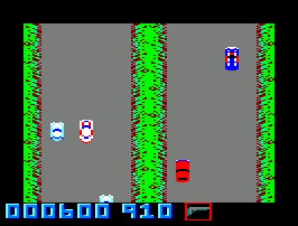 Spy Hunter Amstrad CPC 31