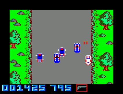 Spy Hunter Amstrad CPC 34