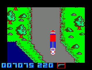 Spy Hunter Amstrad CPC 43