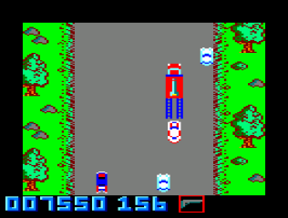 Spy Hunter Amstrad CPC 44