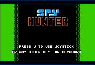 Spy Hunter Apple II 01