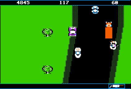Spy Hunter Apple II 12