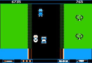 Spy Hunter Apple II 23