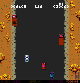Spy Hunter Arcade 09