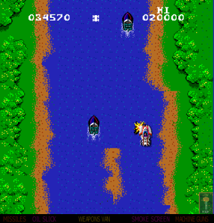 Spy Hunter Arcade 64