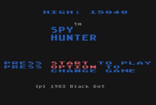 Spy Hunter Atari 800 01