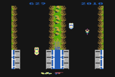 Spy Hunter Atari 800 11