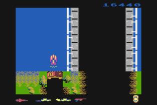 Spy Hunter Atari 800 34