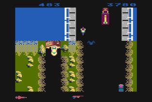 Spy Hunter Atari 800 45