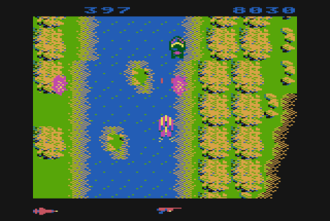 Spy Hunter Atari 800 48
