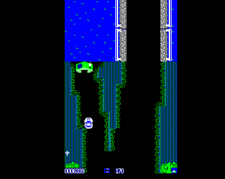 Spy Hunter BBC Micro 11