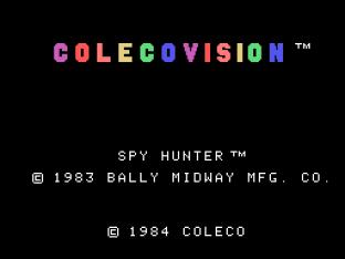 Spy Hunter Colecovision 01