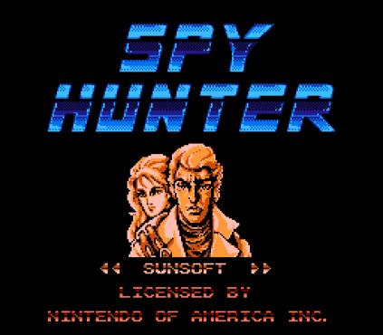 Spy Hunter NES 01