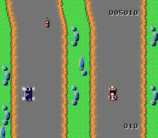Spy Hunter NES 09