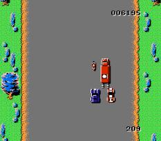 Spy Hunter NES 10