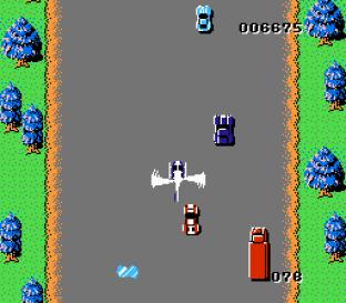 Spy Hunter NES 12