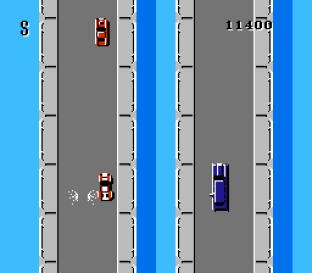 Spy Hunter NES 20
