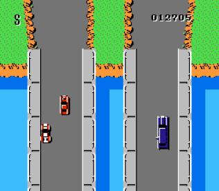 Spy Hunter NES 21