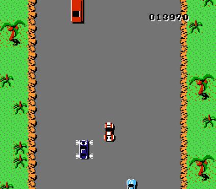 Spy Hunter NES 23